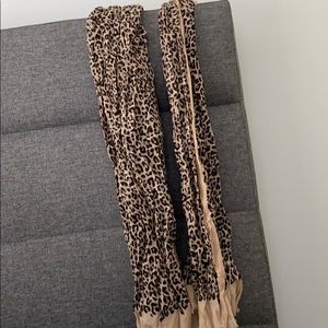 Stella and Dot leopard scarf